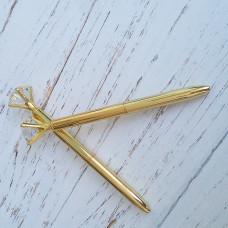 Ручка с бриллиантом золото