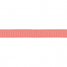 "Лента ""Twill Chevron Stripe-Red""  от May Arts"