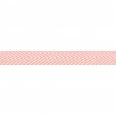 "Лента ""Twill Chevron Stripe-Pink""  от May Arts"