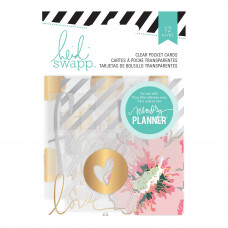 Набор карточек Heidi Swapp Hello Beautiful Clear Pocket Cards 12/Pkg
