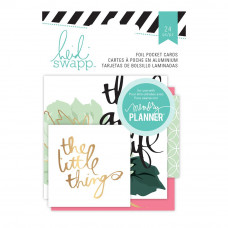 Карточки Heidi Swapp Hello Beautiful Embellishments 24/Pkg, Heidi Swapp