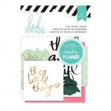 Карточки Heidi Swapp Hello Beautiful Embellishments 24/Pkg, Heidi Swapp