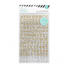 Алфавит Heidi Swapp Hello Beautiful Glitter Stickers от Heidi Swapp