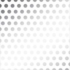 Лист веллума Silver Foil Dots от American Crafts