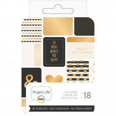 """Набор карточек """"Project Life Themed Cards 3""""X4"""" Be Fearless от Project Life"""