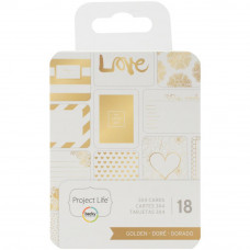 "Набор карточек ""Project Life Themed Cards 3""X4"" от Project Life Golden"