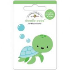 Наклейки 3D Tiny Turtle jn Doodlebug Doodle