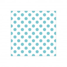 Ацетатный лист с фольгированием - 12 x 12 Acetate Paper -BLUE Foil Dots - Hello Baby Girl - Paper House Productions