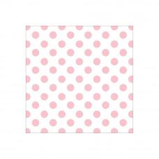 Ацетатный лист с фольгированием - 12 x 12 Acetate Paper - Pink Foil Dots - Hello Baby Girl - Paper House Productions
