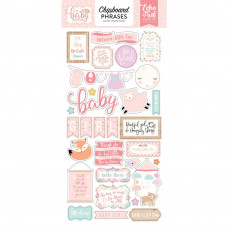 Набор чипборда Hello Baby Girl от Echo Park Paper