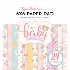 Набор бумаги Hello Baby Girl от Echo Park Paper