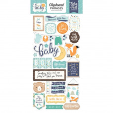 Набор чипборда Hello Baby Boy от Echo Park Paper