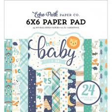 Набор бумаги Hello Baby Boy от Echo Park Paper