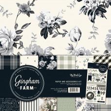 Набор бумаги Gingham Farm от My Minds Eye