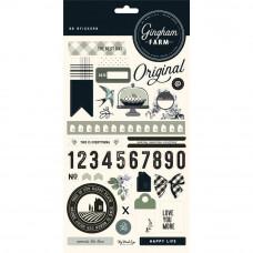 """Наклейки Gingham Farm Stickers 6""""X12"""" от My Minds Eye"""