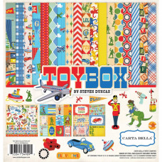 "Набор бумаги Toy Box Carta Bella Collection Kit 12""X12"""