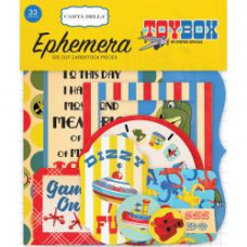 Набор высечек Toy Box Ephemera Cardstock Die-Cuts