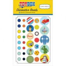 Набор брадсов Toy Box  от Carta Bella
