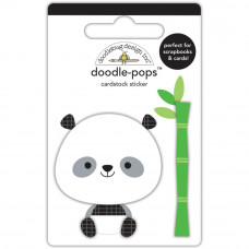 """3d стикер """"Doodle-Pops 3D Stickers At The Zoo Polly Pandaот Doodlebug"""