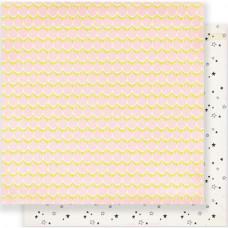 "Лист бумаги Maggie Holmes Carousel Double-Sided Cardstock 12""X12"" от Crate Paper"