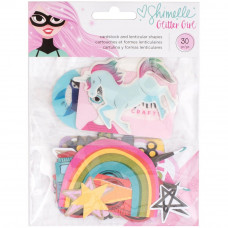 "Набор высечек  ""Glitter Girl"" от American Crafts"