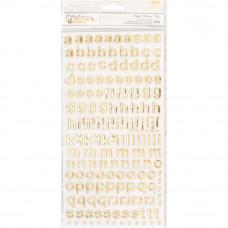 Набор алфавита Maggie Holmes Carousel от Crate Paper