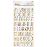Алфавит Maggie Holmes Carousel Thickers Stickers  от Crate Paper 379116