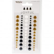 """Набор дотс коллекции """"Joyful Adhesive Enamel Dots"""" от MME"""