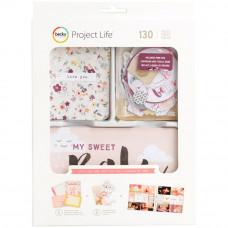 Набор карточек и высечек с фольгированием Little You Girls