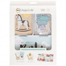 Набор карточек и высечек с фольгированием - Value Kit with Foil  Little You Boys от Project Life