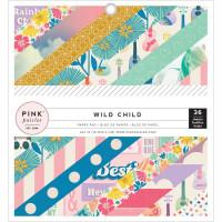 "Набор бумаги коллекции Wild Child - Girl Pink Paislee  6""X6"" 36/Pkg"