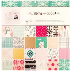 Набор бумаги Snow & Cocoa 24 Designs/2 Each от Crate Paper