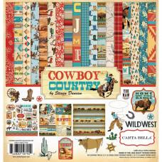 """Набор бумаги """"Cowboy Country"""" от Carta Bella"""