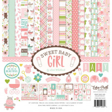 "Набор бумаги Sweet Baby Girl Echo Park Collection Kit 12""X12"""