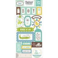 Набор чипборда Sweet Baby Boy от Echo Park Paper
