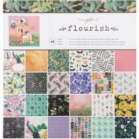 Набор бумаги Maggie Holmes Flourish 30х30 от Crate Paper