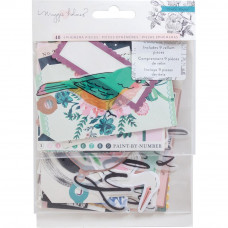 Набор высечек Maggie Holmes Flourish Ephemera Cardstock Die-Cuts 40/Pkg от  Crate Paper
