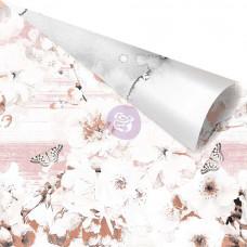 Лист бумаги с  фольгированием Beautiful Remarks от Prima Marketing коллекция Cherry Blossom Gold Foiled