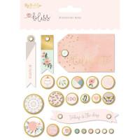 Набор брадсов Bliss Decorative Brads 24/Pkg от My Minds Eye
