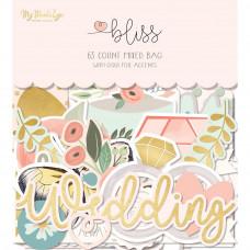 Набор высечек с золотым фольгированием Bliss Mixed Bag от My Minds Eye