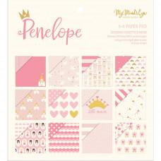 Набор бумаги Penelope  от My Minds Eye 15*15, 24 листа