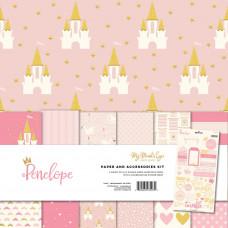 Набор бумаги Penelope W/Gold Accents от My Minds Eye