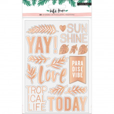 Наклейки Wild Heart Clear Stickers от Crate Paper