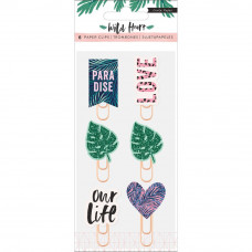 Скрепки Wild Heart Decorative Clips от Crate Paper