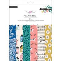 Набор упаковочной бумаги Maggie Holmes Willow Lane Gift Wrap Book 24/Pkg от Crate Paper