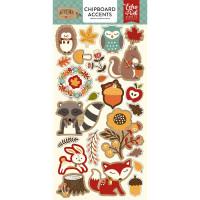 """Набор чипборда Celebrate Autumn Chipboard 6""""X13"""" от Echo Park Paper"""