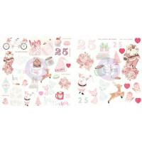 Набор высечек Santa Baby Ephemera Cardstock Die-Cuts