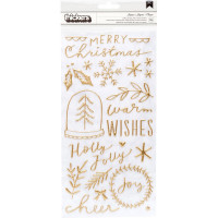 Набор Puffy стикеров Merry Days Thickers Stickers 76/Pkg