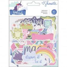 Набор высечек Shimelle Head In The Clouds Ephemera Cardstock Die-Cuts от American Crafts
