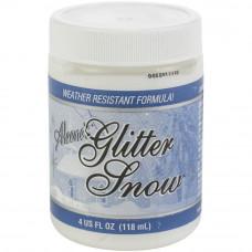 Паста декоративный снег Aleene`s Glitter Snow 4oz от ALEENE`S